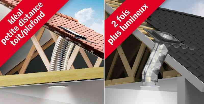 """""""Sun Tunnel"""" de VELUX, le conduits de lumière naturelle et sans électricité"""