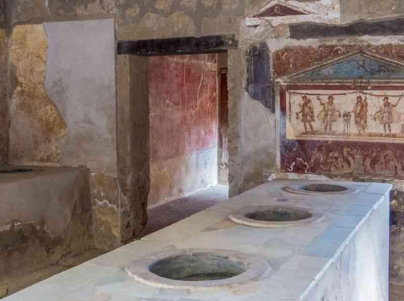 Voici le plus vieux fast-food du monde, il a 2 000 ans et a été découvert à Pompéi