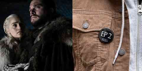 "Des badges pour ne plus se faire ""spoiler"" la série Games of Thrones"