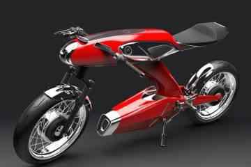 """Honda Super 90, l'étonnante moto électrique """"rétro"""""""