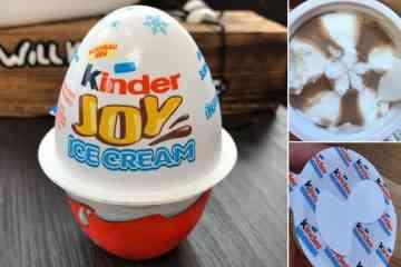 Les glaces « Kinder Surprise » débarquent en France