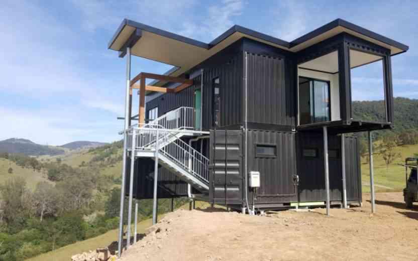 Les maison container, une construction rapide mais surtout très économique