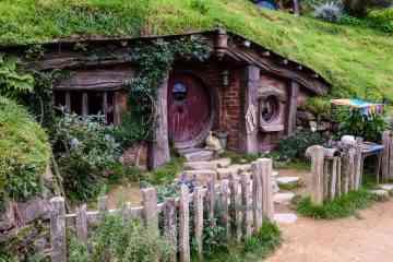 Cette maison de hobbit est à vendre au prix de 198.000$