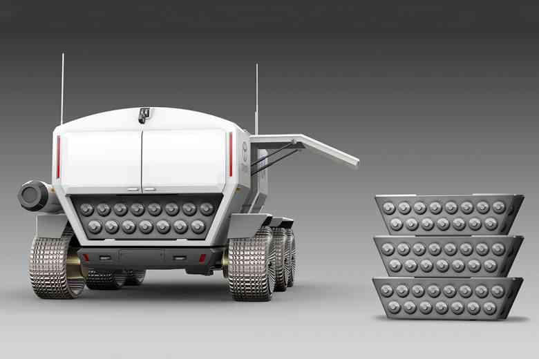 La firme Toyota travaille sur un rover lunaire destiné au transport de personnes