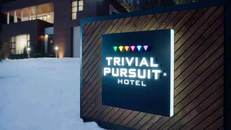 Dans cet hôtel Trivial Pursuit on paye sa chambre avec un défi de culture générale