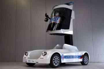 U.M.S. Viséo, la nouvelle voiture radar télescopique