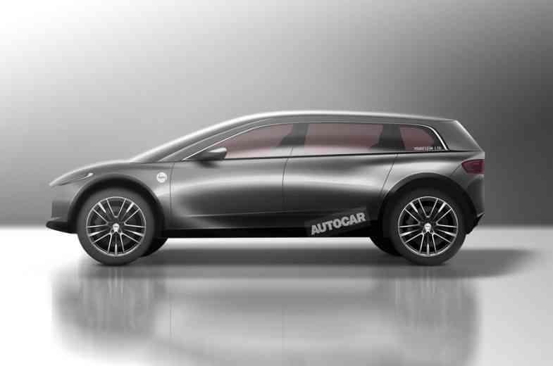 La voiture électrique Dyson se dévoile un peu plus