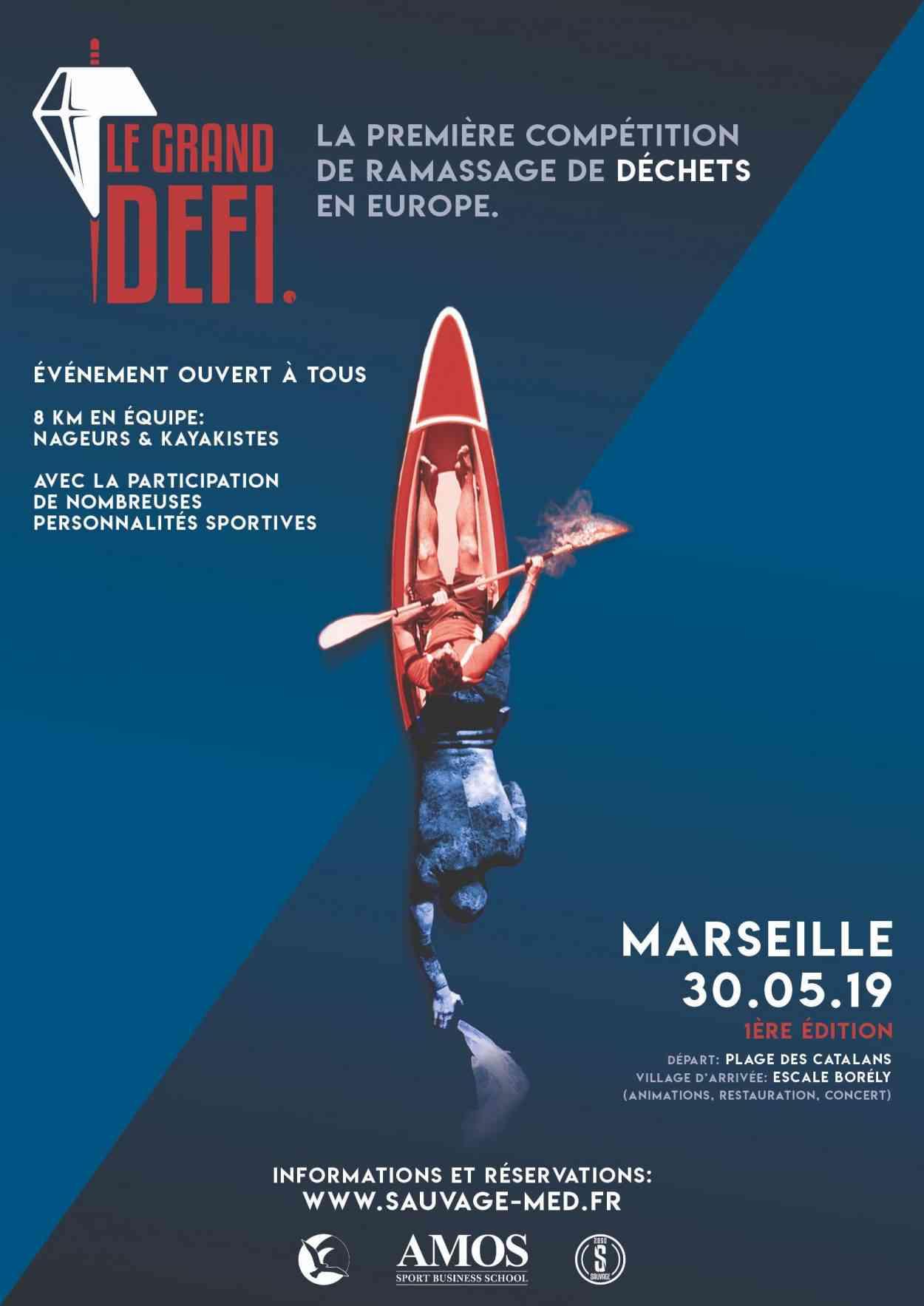 Le Grand Défi : La première compétition de ramassage de déchets marins se déroulera à Marseille