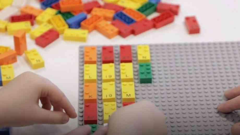 LEGO dévoile une boite de briques en braille pour faciliter son apprentissage