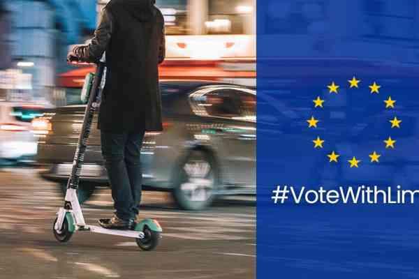 Lime vous offre un trajet gratuit avec ses trottinettes pour aller voter aux Élections Européennes