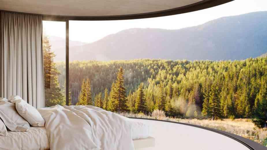 Lumipod, le module d'habitation de 17m² à poser dans la nature