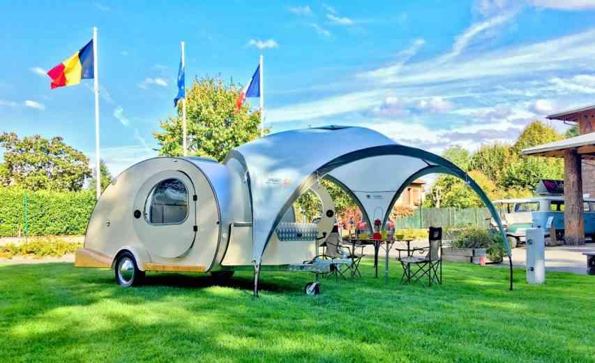 My Drop : Une entreprise relance la mythique mini-caravane californienne Teardrop