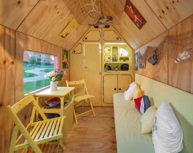 Tiny House Magenta, la petite maison sur roue à 10.000 $