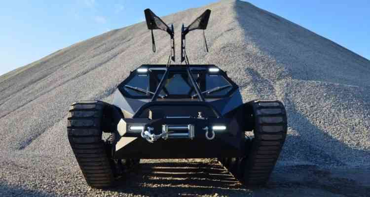"""Ripsaw EV2 : L'impressionnant tank du film """"Fast and Furious"""" est à vendre"""
