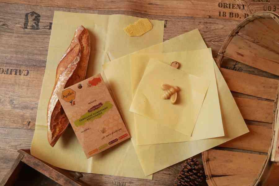 Apifilm, le film alimentaire naturel, réutilisable, sans plastique et zéro déchet !