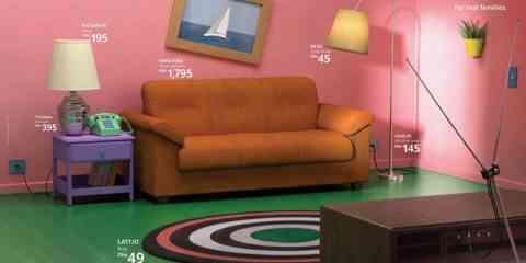 IKEA reproduit les mythiques salons de Stranger Things, des Simpsons, et de Friends