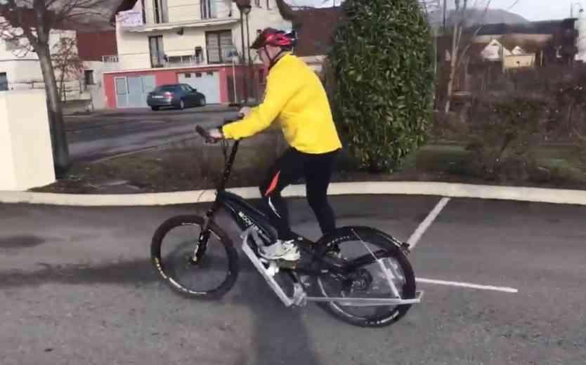 Avec l'étonnant vélo Moov Up Bikes, il faut courir pour avancer !