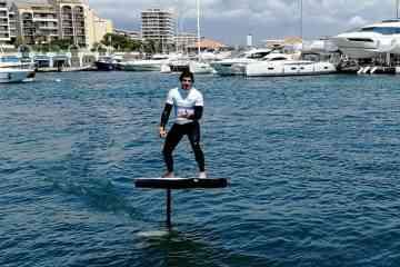 Whimsifoil, la planche de surf électrique made in France