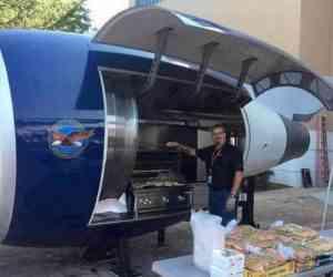 Quand des ingénieurs de Delta Air Lines fabrique un barbecue, le résultat est forcement hors normes !
