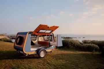 Carapate, une mini-caravane tout confort et très fonctionnelle