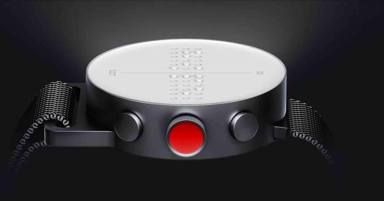 Dot Watch, la montre connecté qui affiche l'heure, les appels et ...