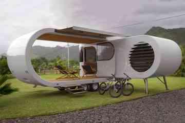 Romotow Caravan, un étonnant concept de caravane déployable