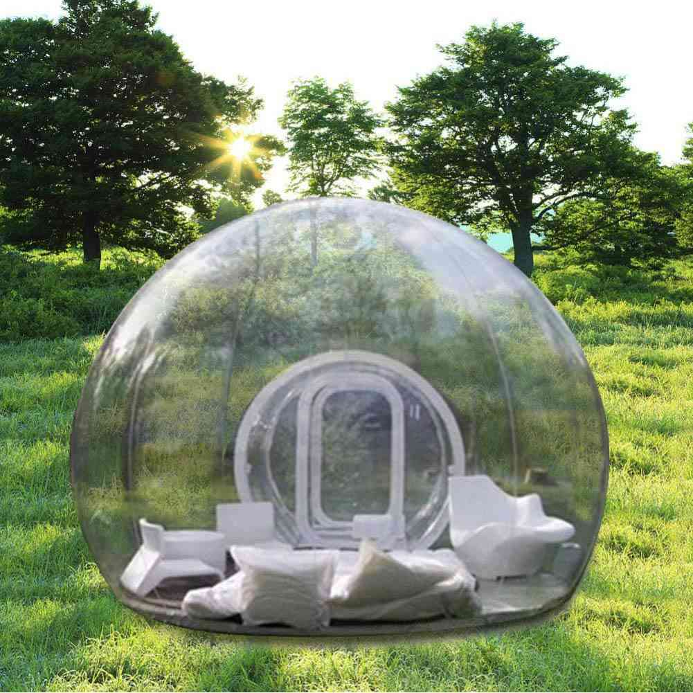 Insolite : Connaissez-vous la tente igloo transparente ...