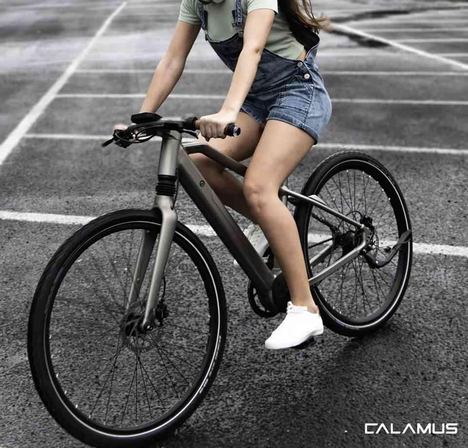 Calamus One : ce vélo est un concentré de technologie (tableau de bord, capteurs à ultra son etc...)