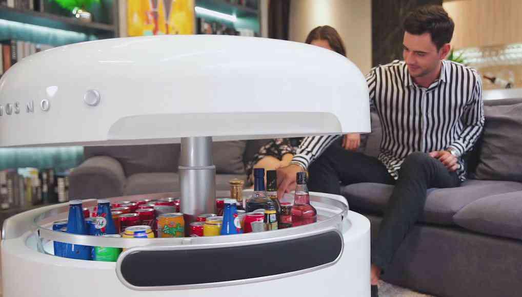Coosno Une Table Basse Futuriste Avec Frigo Intégré Neozone