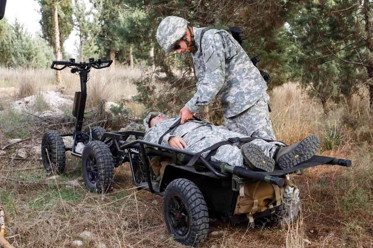 Dsraider Tactical La Trottinette électrique Tout Terrain à Usage Militaire Neozone
