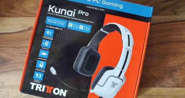 TRITTON Kunai Pro : Test et présentation