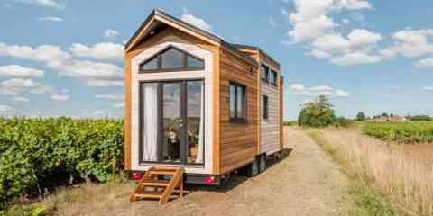 Epona, une charmante Tiny House pour faire le tour du monde avec sa maison