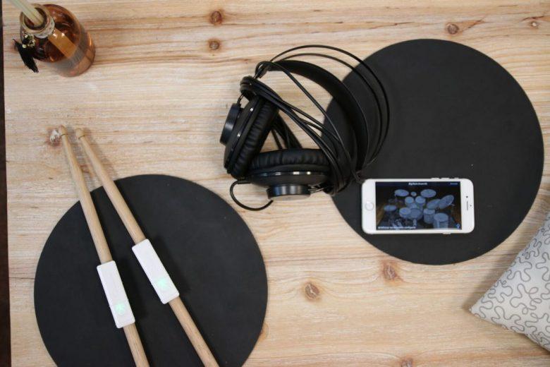 Idée cadeaux : Redison | Senstroke, la batterie électronique portable