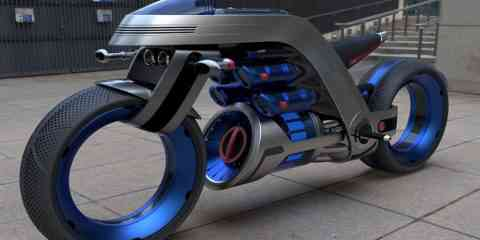 Un concept bike insolite qui s'inspire des technologies Dyson