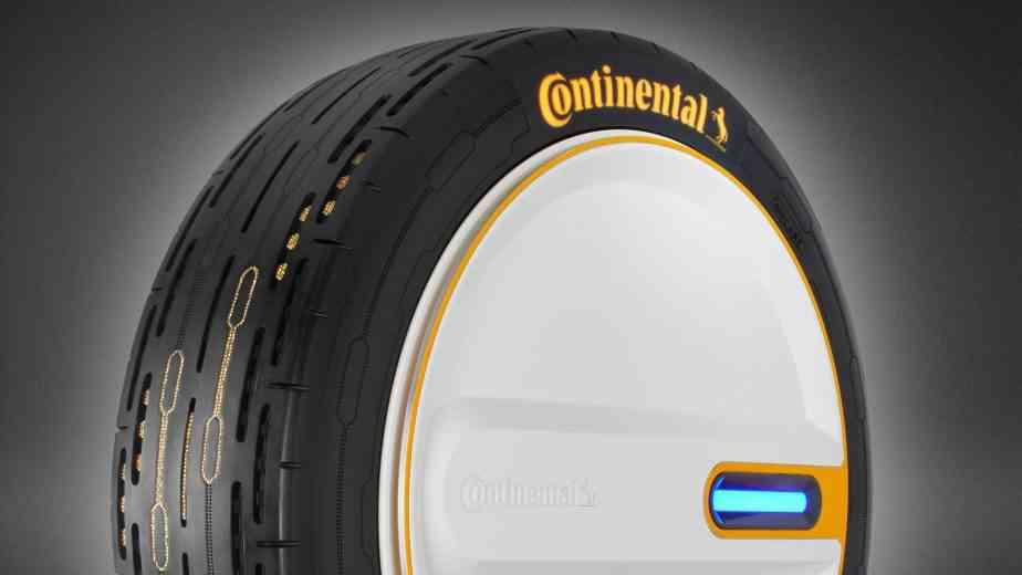 Continental invente le pneu qui modifie sa pression pour réduire la consommation de carburant