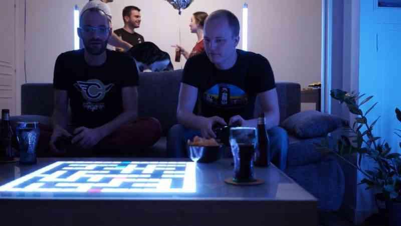 PixIt, la table basse qui renferme une console de jeux rétro, lance sa campagne de crowdfunding