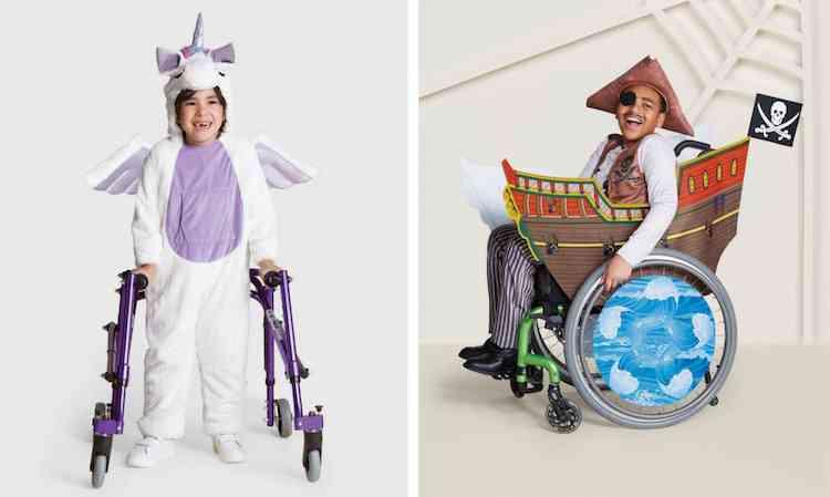 Handicap : Target dévoile une série de costumes d'Halloween inclusifs pour les enfants en fauteuil roulant