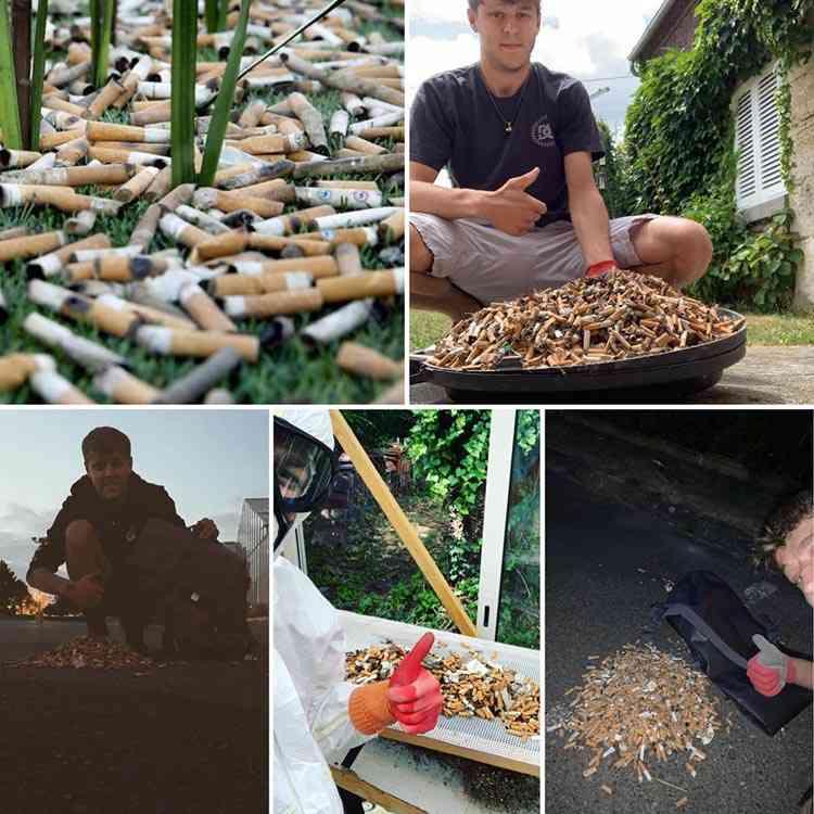 Tchaomegot, un projet pour transformer les mégots de cigarettes en.... doudounes !