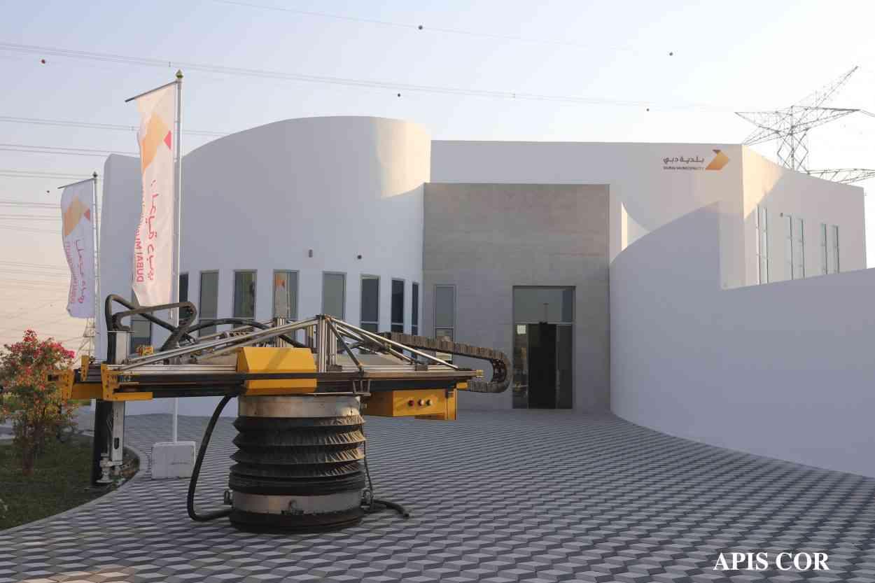 Incroyable Cette Maison De Deux Etages A Ete Entierement Construite Par Impression 3d Neozone