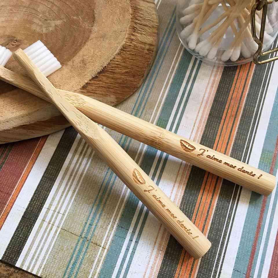 La Maline, une brosse à dents en bois avec tête interchangeable 100 % made in France