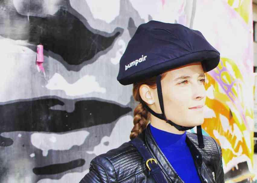 Bumpair, un casque gonflable pour les trottinettes électriques en libre  service