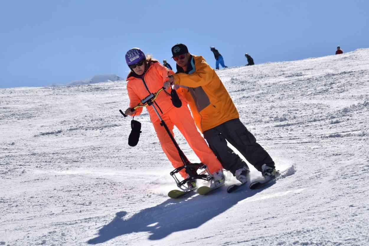 Go To Ski, un dispositif pour skier debout destiné aux personnes en situation de handicap