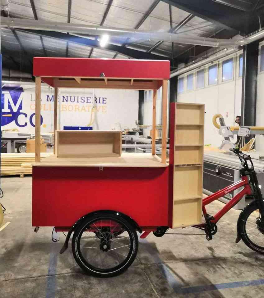 Montpellier : un vélo-librairie sillonne les quartiers sans bibliothèque