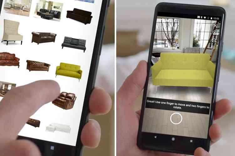 Réalité Augmentée : Amazon propose de tester les meubles chez vous avant de les acheter