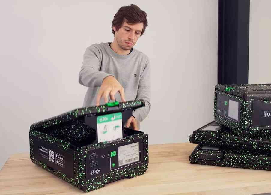 LivingPackets : The Box, des emballages connectés pour mettre fin aux colis perdus ou endommagés