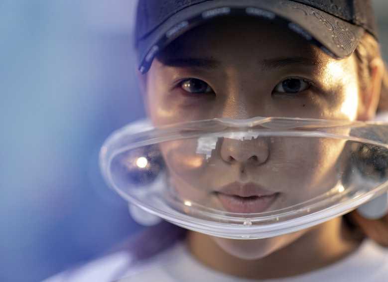 masque filtre pollution