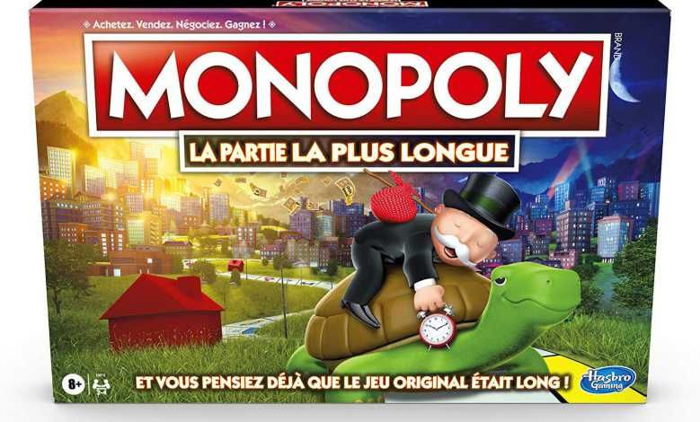 """Hasbro dévoile un Monopoly à double plateau """"La Partie La Plus Longue"""""""