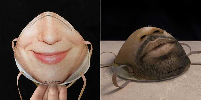 masque facial pour virus