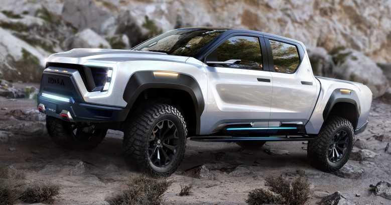 Nikola Badger : un pick-up électrique qui offre plus de 900 km d'autonomie !