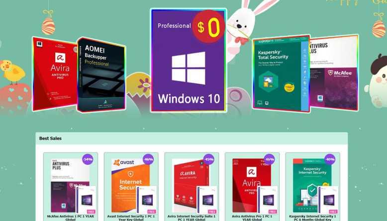 Protégez votre PC avec ces applications antivirus à moitié prix et la mise à niveau gratuite de Win 10 Pro